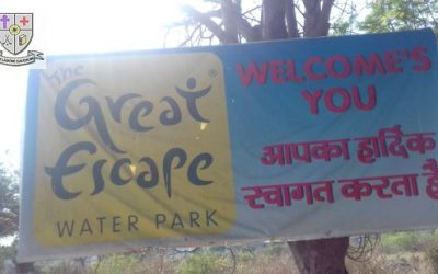 Secondary Picnic At  Great Escape water park