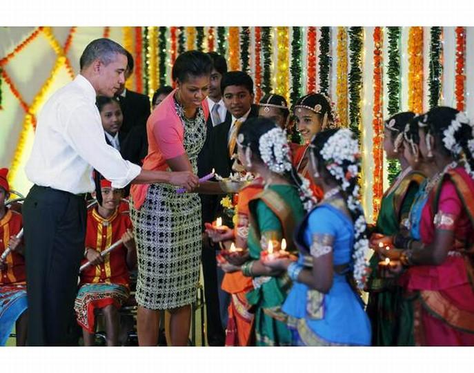 President & Mrs. Obama visit Our School